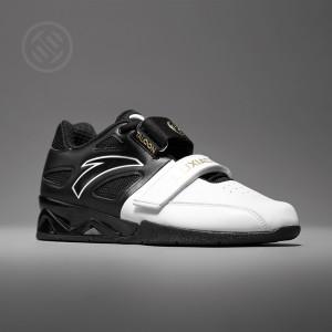 Anta X LUXIAOJUN Men's Weightlifting Match Shoes - Black/White