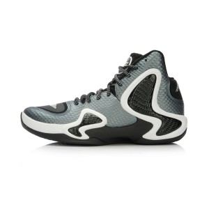 Li-Ning Phantom Flyer Mens Professional Basketball Shoes - Black/White