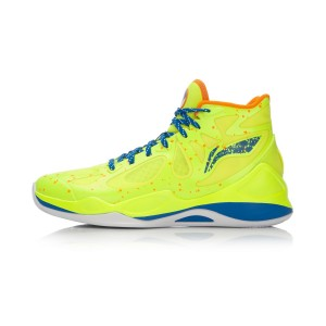 Li-Ning BB Lite Sonic 4 2016 CBA Professional Basketball Shoes - Bright Green/Crystal Blue