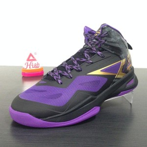 2014 FIBA Basketball World Cup Peak Soaring II Basketball Shoes - Black Speed Eagle