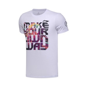 Li-Ning 2017 Wade China Trip Themed  Basketball Culture Tee Shirt