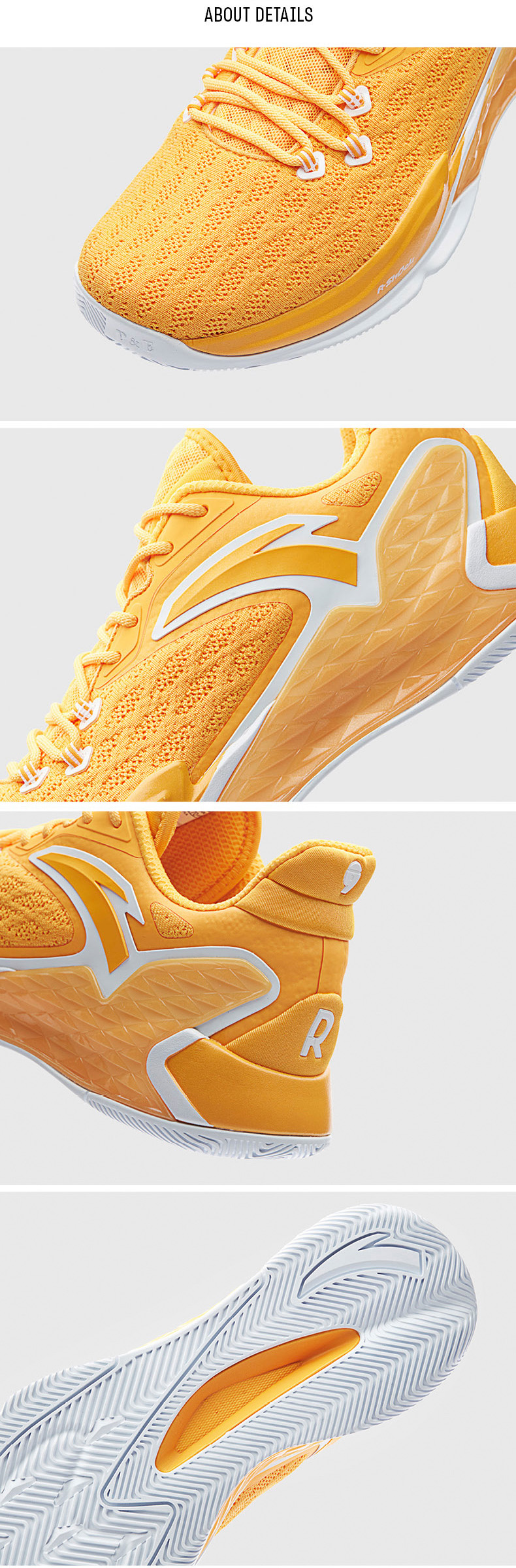 2019 Summer Anta Rajon Rondo RR5 Lakers NBA Basketball Shoes - White/Purple/Yellow