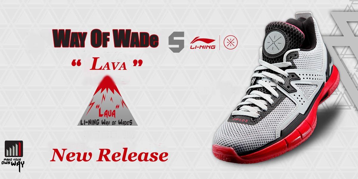 Li-Ning Wade 5 LAVA