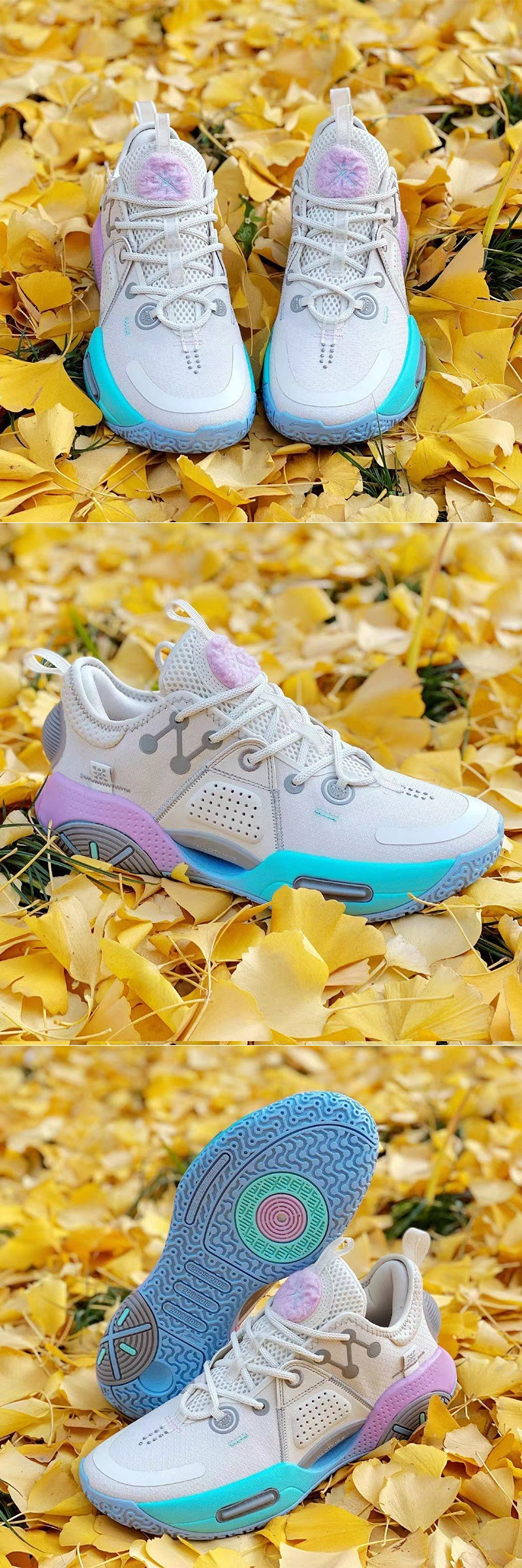 """Way of Wade 2020 ALL CITY 9 """"Cotton Candy"""" Basketball Sneakers"""